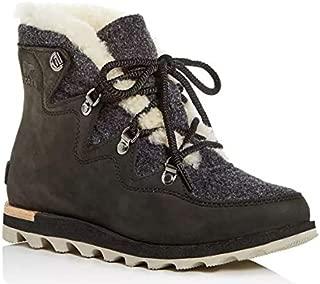 SOREL Womens Sneakchic Alpine Boot Black/Dark Stone Size 7