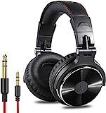 OneOdio DJ Kopfhörer, Studiokopfhörer, Over-Ear Headset, Adapter-frei Geschlossener...