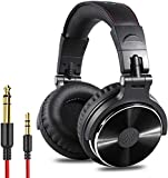 OneOdio Over Ear Kopfhörer mit Kabel Mikrofon Share-Port Adapter-frei Professionelle DJ Headphones...