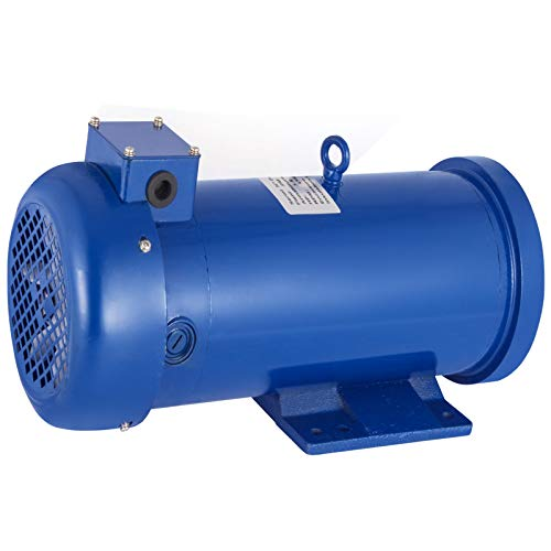 VEVOR 1.5HP DC Motor 180V Rated Speed 1750RPM 145TC Frame 1100W TEFC Permanent Magnet DC Motor with Carbon Brushes