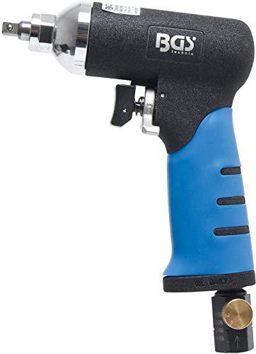 BGS 3320 | Druckluft-Schlagschrauber für Glühkerzen | Drehmoment-Einstellung möglich (Rechts- u. Linkslauf) | handlich