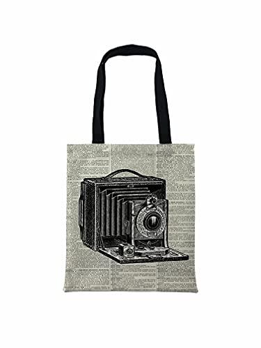 Cámara vieja, coleccionistas de cámaras antiguas, Fotógrafo Tote Bag