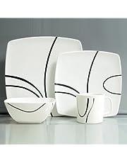 Hekers Melamine servies 16 delen Zen Design