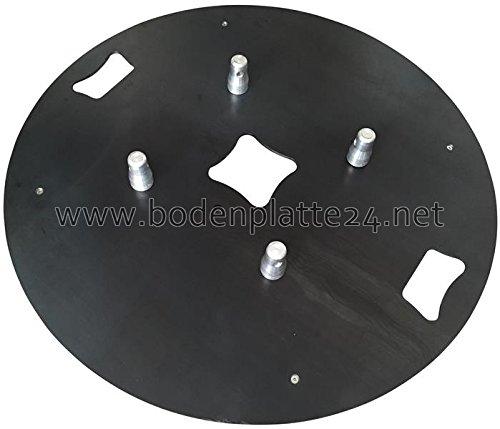 Traversen Truss Fuß Bodenplatte Baseplate 6 mm rund 75 cm Durchmesser 25 kg