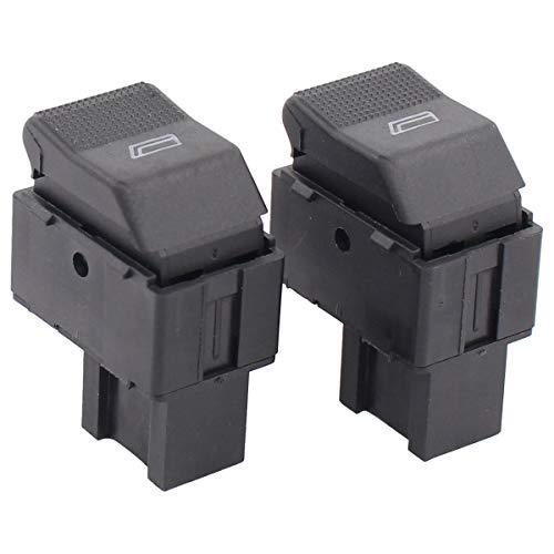 2 interruptores para elevalunas delantero izquierdo para Cordoba 6K1 6K2 Ibiza II Lupo 6X1 6E1 Polo 6N2