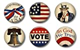 Patriotic Magnets for 4th of July,...