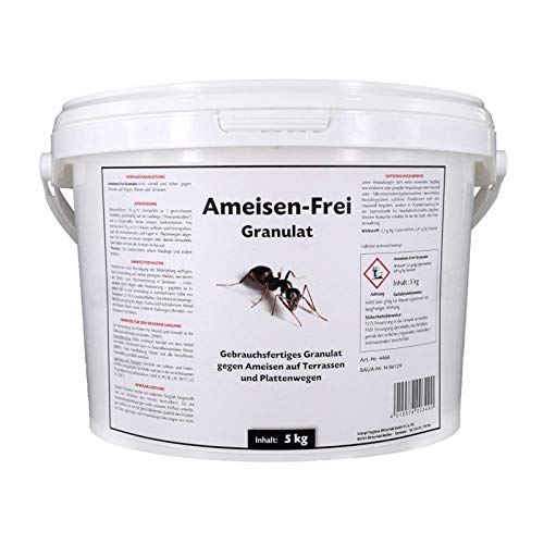 Schopf Anti-ants Granules 5 KG - Ready to Use, Well Soluble Granules Against Ants For Sprinkle And Water