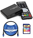 Micca Speck G2 1080p Full HD Ultra Portable Media Player Bundle with 16GB SDHC Memory Card, and Blucoil 8-FT HDMI Cable