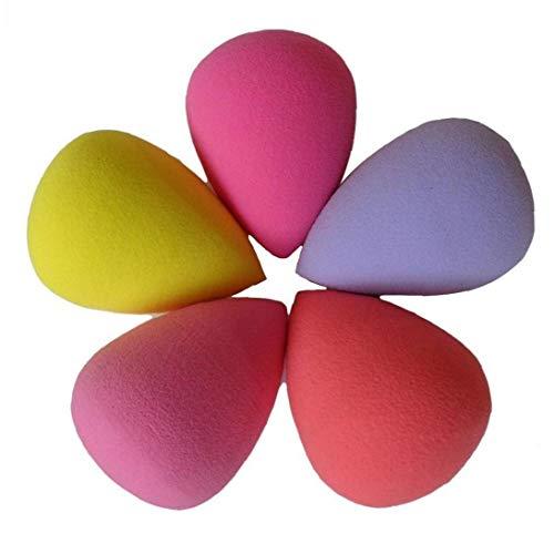 LAANCOO 6 PCS Pro Gota del Agua del Maquillaje Blender Soplo de Polvo de Esponja de Maquillaje Fundación Esponja para el día de San Valentín Invierno Día de la Madre