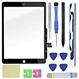YEECHUN Touch Screen Digitizer for iPad 7 2019 7th Gen 10.2' A2197 A2198 A2200 Front Glass Replacement (Without The Home Button, Tool Repair kit Included)