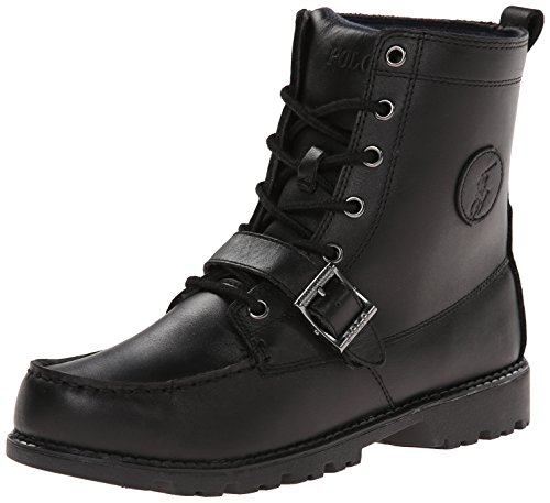 Polo by Ralph Lauren Ranger Hi II 90945 Boot ,Black,13 M US Little Kid