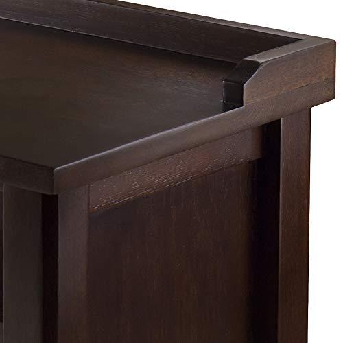 Product Image 2: Winsome Dayton Bench, Antique Walnut