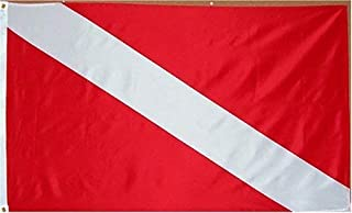 Diver Flag - 3 foot by 5 foot Polyester (NEW) by Other Flags