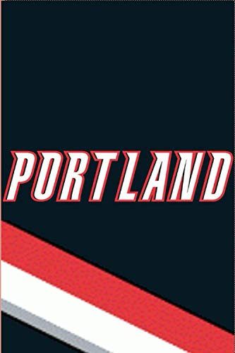 PORTLAND: (Basketball) Notebook / Journal / bloc note - 120 pages 6x9