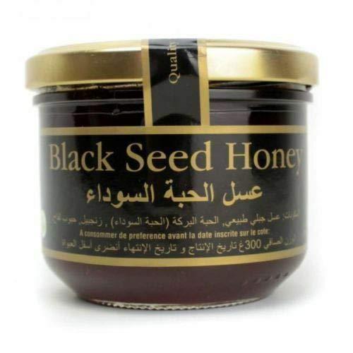 Natuurlijke, Gezond Zwartzaad Honing Zwart Zaad Olie, Ginseng,Nigella, Sativa x300g