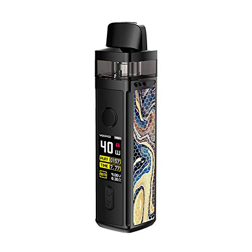 VINCI Mod Pod Kit, Original VOOPOO VINCI Mod Pod Vape Kit E-cig con 1500mAh Battery & 5.5ml Pod & 0.96 inch TFT Color Screen