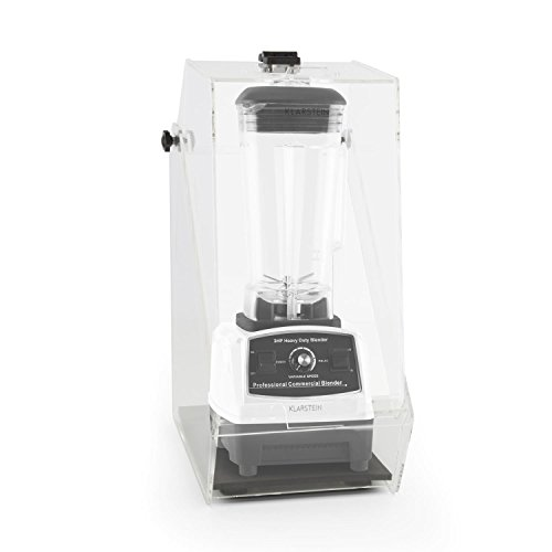 Klarstein Herakles-2G Standmixer Power-Mixer Smoothie-Mixer (sehr leise, 1200 W Blender, 32.000 U/min, 2 l Krug, BPA-frei) weiß