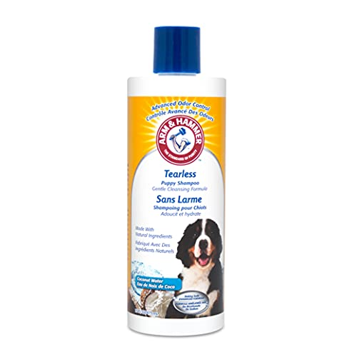 Arm & Hammer Tearless Puppy Shampoo in Coconut Water Scent, 16 Ounces