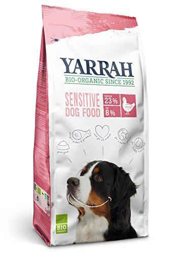 Yarrah Croquettes Bio Sensitive sans gluten- 10 kg- Chien