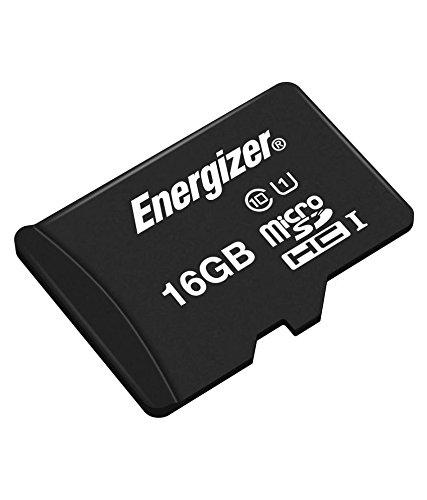 Energizer エナジャイザー microSDHCカード UHS-1 ハイテク 読込:40MB/s (16GB) カード SD変換アダプター付き
