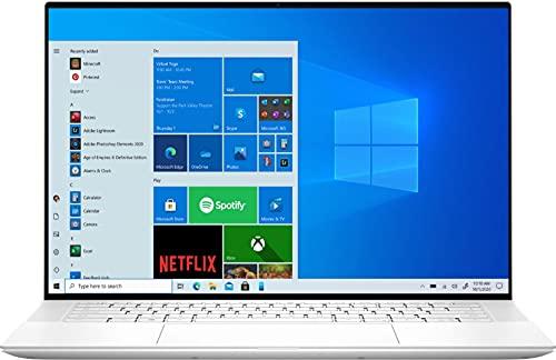Dell XPS 15-Wht School & Business Laptop (Intel i7-11800H 8-Core, 32GB RAM, 1TB PCIe SSD, RTX 3050 Ti, 15.6' Touch 3.5K (3456 x 2160), Fingerprint, WiFi, Bluetooth, Webcam, Win 10 Pro)