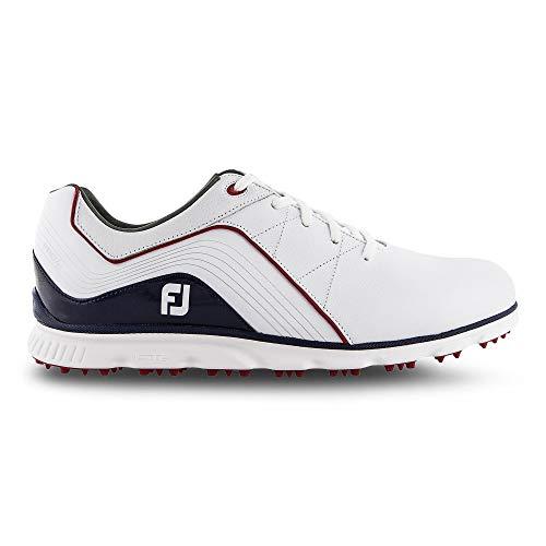 Footjoy Pro SL, Chaussures de Golf Homme, Blanc (Blanco/Azul...
