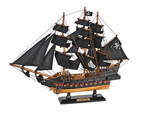 Navyline Barca Modello in Legno 'Caribbean Pirate Ship' Pirate Ship