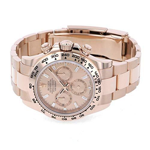 ロレックス ROLEX デイトナ 116505A ピンク文字盤 新品 腕時計 メンズ (W200122) [並行輸入品]