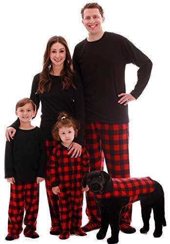 #followme Family Pajamas Microfleece Mens Pajama Set 6752-10195-L