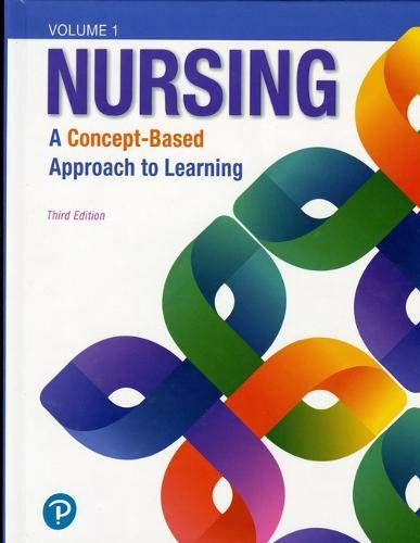 Compare Textbook Prices for Nursing: A Concept-Based Approach to Learning, Volume I 1 Edition ISBN 9780134616803 by Pearson Education