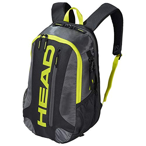 HEAD Racquetball & Pickleball Backpack - Racket Bag w/ Multiple Compartments & Adjustable Shoulder Straps