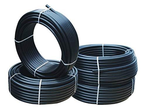 rg-vertrieb Verlegerohr Versorgungsleitung Wasserleitung Druckrohr für Bewässerung Sprinklersystem PE-Rohr 16mm 20mm 25mm 32mm wählbar (16 mm x 10 m)