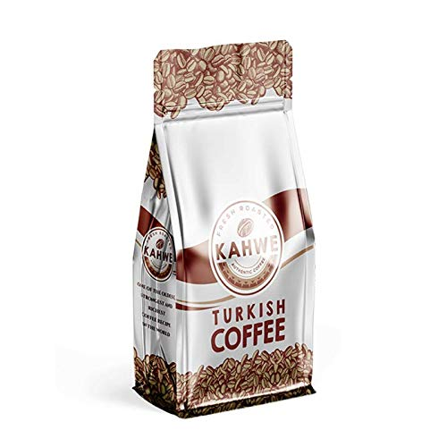 Kahwe - the Freshest Turkish Coffee Made in the USA - Ground - Medium Roast Turkish Coffee - 8 Ounce (227g)