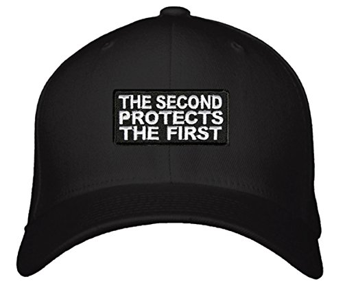 The Second Protects The First Hat - Pro Gun Rights Cap Black