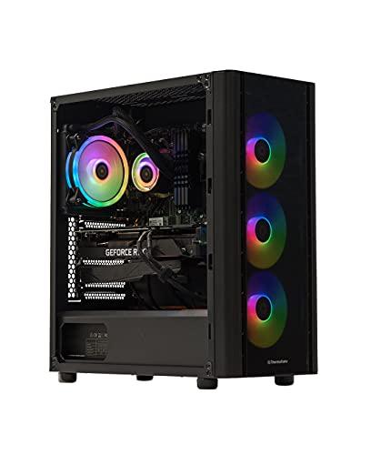 Velztorm Archux Gaming & Entertainment Desktop PC (AMD Ryzen 7 3700X 8-Core, 128GB RAM, 8TB PCIe SSD, GeForce RTX 3080 Ti, 4xUSB 3.1, 1xUSB 3.0, 2xHDMI, 2 Display Port (DP), Win 10 Pro)