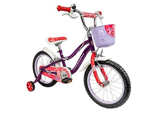 Schwinn Girls' Elm Bicycle, Purple, 16-inch Wheels