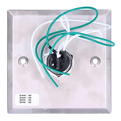 Interruptor de llave de salida, interruptor de llave de puerta Interruptor de llave universal para puerta de garaje u otra salida de emergencia