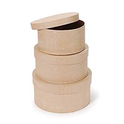 stackable round boxes