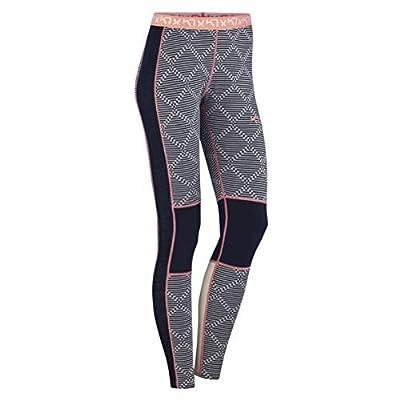 Kari Traa Women's Rett Base Layer Bottoms - Merino Wool Blend Thermal Pants Naval Small