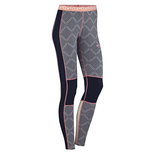 Kari Traa Women's Rett Base Layer Bottoms - Merino Wool Blend Thermal Pants Naval X -Large