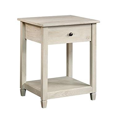 Sauder 419239 Side Table, Chalked Chestnut