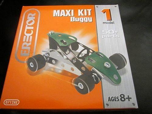 Erector Maxi Kit Excavator 0712BE 1 Model by Erector
