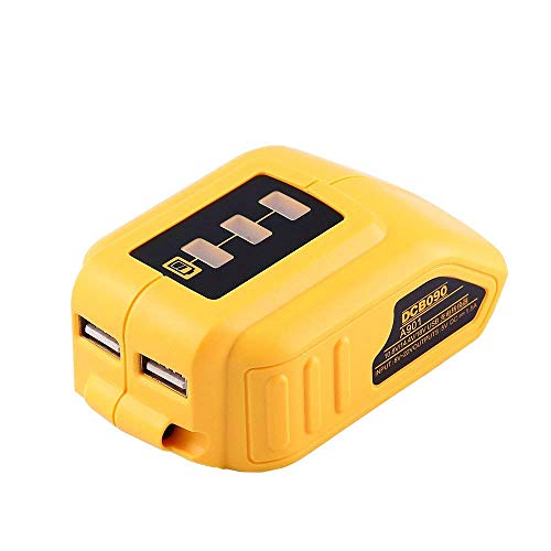 Munikind DCB090 Replace for Dewalt USB Charger 12V/20V Max Lithium Battery
