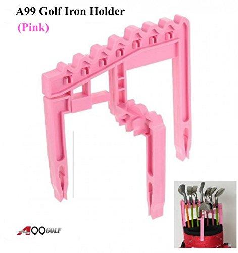 A99 Golf 9 Iron Club Houder Roze Organiseer je strijkijzers Universeel Boven Tas Duurzaam