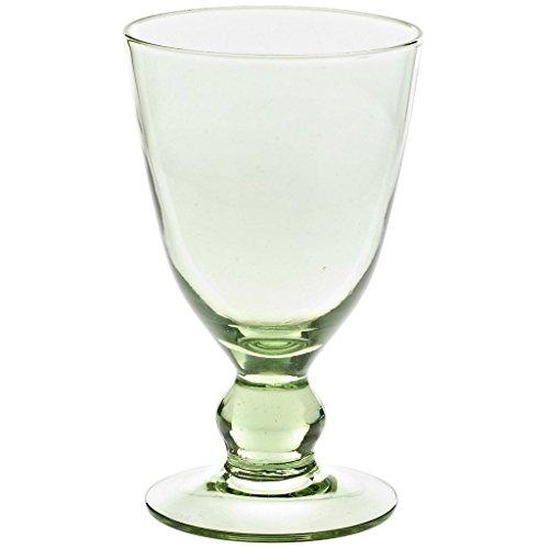 Weinglas Weinkelch Biedermeier Glas Waldglas Grün 220 ml H 14,5 cm Traditioneller Thüringer Style