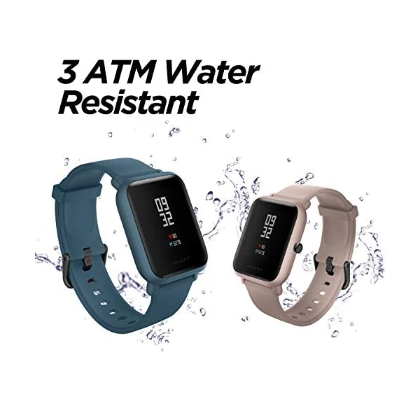Amazfit BIP Lite Smart Watch- Blue (UP to 45 Days Battery Life_3 ATM) 6 41XHoIAPQjL