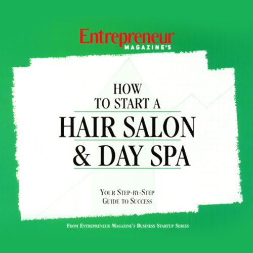 How to Start a Salon & Day Spa audiobook cover art