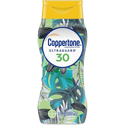 Coppertone ultraGuard Sunscreen Lotion, LSF 30 - Sonnenschutz, 237ml aus USA