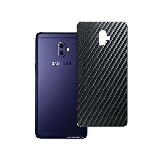 Vaxson 2 Unidades Protector de pantalla Posterior, compatible con Samsung Galaxy C7 (2017) / Galaxy C10, Película Protectora Espalda Skin Cover - Fibra de Carbono Negro