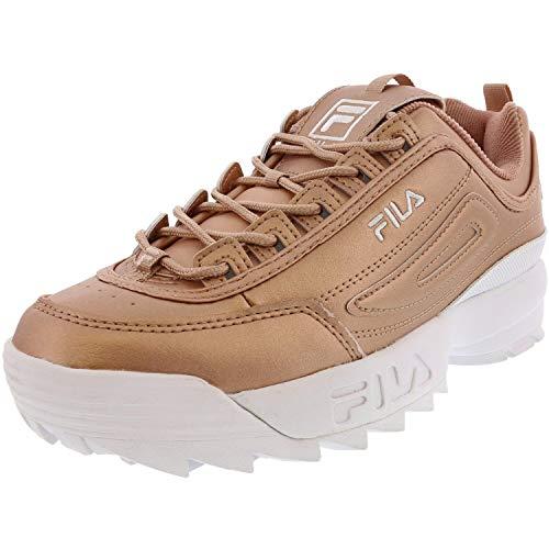 Fila Damen-Sneaker Disruptor Low Wmn 1010302-12v Top, - Metallic Roségold Weiß - Größe: 42 EU